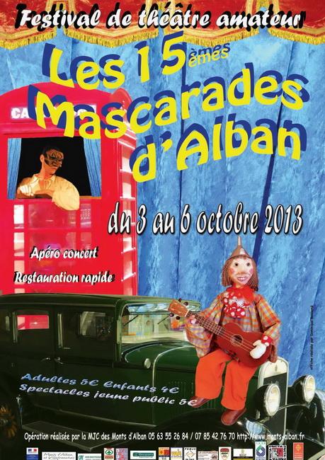 affiche mascarades 2013