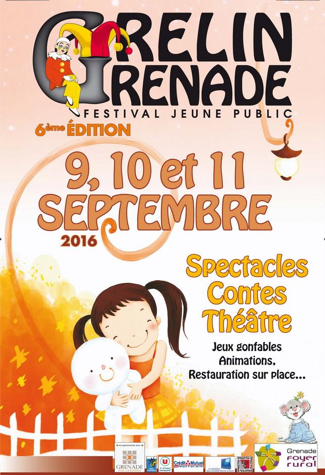 Affiche Grelin Grenade 2016